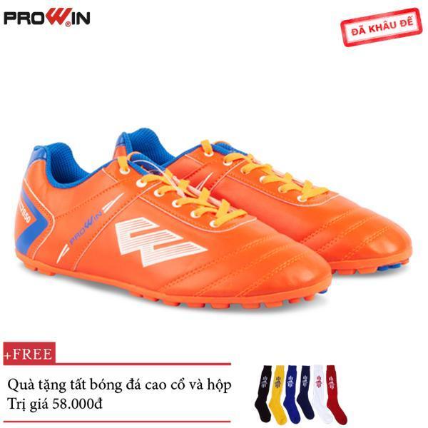 [Lấy mã giảm thêm 30%]Giày Đá Bóng Trẻ Em Prowin S50 ( 4 Màu ) - Tặng kèm tất bóng đá cao cổ - S50.tre.em.
