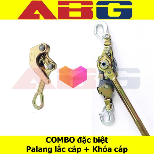 COMBO SIÊU TIẾT KIỆM - Combo Palang và khóa cáp 1 tấn