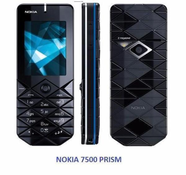 Điện thoại Nokia 7500 Prism - Bảo hành 12 tháng