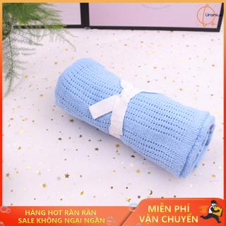 Chăn lưới mùa hè cho bé. Chăn chống ngạt cho bé. Chăn lưới thiết kế đặc biệt chất liệu mềm mịn, không xù, không xổ và đặc biệt an toàn với bé sơ sinh thumbnail