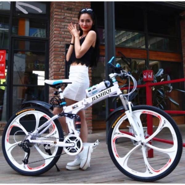 Mua Xe đạp thể thao khung gấp gọn cá tính-siêu xe land rover - khung xe chắc chắn.