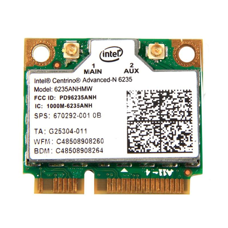 Dual Band 300Mbps Wireless Bluetooth 4.0 For Intel Centrino Advanced-N 6235 6235ANHMW Half Mini PCI-E Wifi Card 802.11Agn Giá Siêu Cạnh Tranh