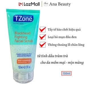 Kem Tẩy Da Chết Tràm Trà T-ZONE 150ml Blackhead Fighting Facial Scrub Sạch Mụn Đầu Đen thumbnail