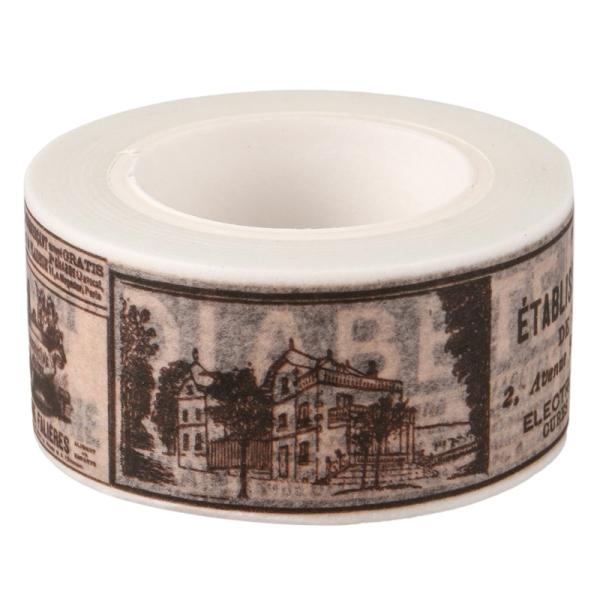 Mua Flower Washi Tape 10M Auto Decorative Art Adhesive Sticky Paper DIY style: Sticker Retro