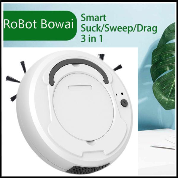 [TRÍ TUỆ MỚI ] Thiết Bị Làm Vệ Sinh-Robot Hút Bụi Lau Nhà Siêu Thông Minh Công Nghệ 4.0 Trí Thông Minh Nhân Tạo-Di Chuyển Làm Sạch Thông Minh Các Vị Trí Khó-Độ Ồn Thấp-Bảo Vệ Ngôi Nhà Xanh-Sạch-Đẹp Cho Bạn, Bh 1 Đổi 1. Giá Cực Sốc