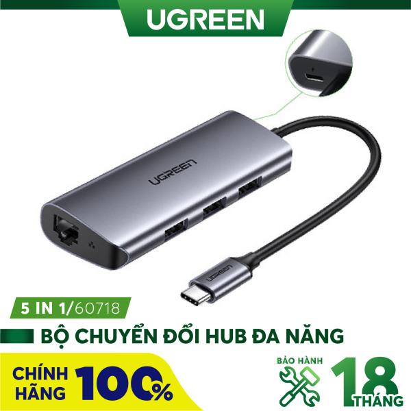 Bảng giá Bộ chuyển đổi đa năng cho MacBook Laptop các thiết bị máy tính điện thoại hỗ trợ USB type C truyền âm thanh hình ảnh UGREEN 40873 50538 50539 70411 50209 50319 50516 50771 60557 50990 50989 50210 20197 Phong Vũ