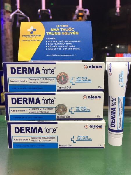 Kem mụn Derma Forte 15g, chất lượng đảm bảo an toàn đến sức khỏe người sử dụng, cam kết hàng đúng mô tả nhập khẩu