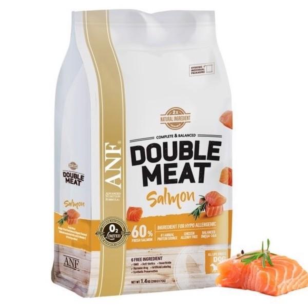 Thức ăn ANF Double Meat cho chó - Vị cá hồi