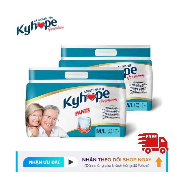 Tã quần Người lớn Kyhope Premium M/L07 Miếng nhập khẩu