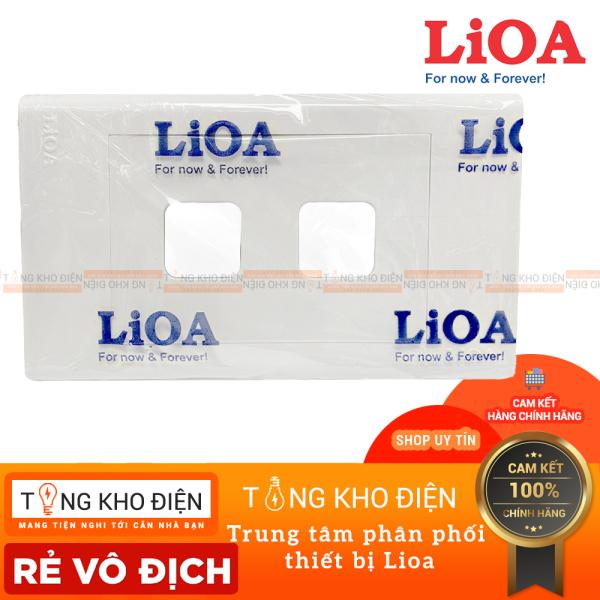 Bảng giá Mặt 2 lỗ LiOA , Nhựa TRẮNG - Tiếp điểm ĐỒNG