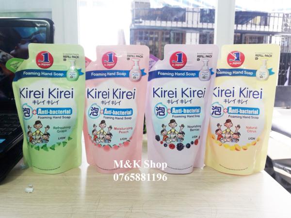 Bọt rửa tay Kirei Kirei túi 200ml nhập khẩu