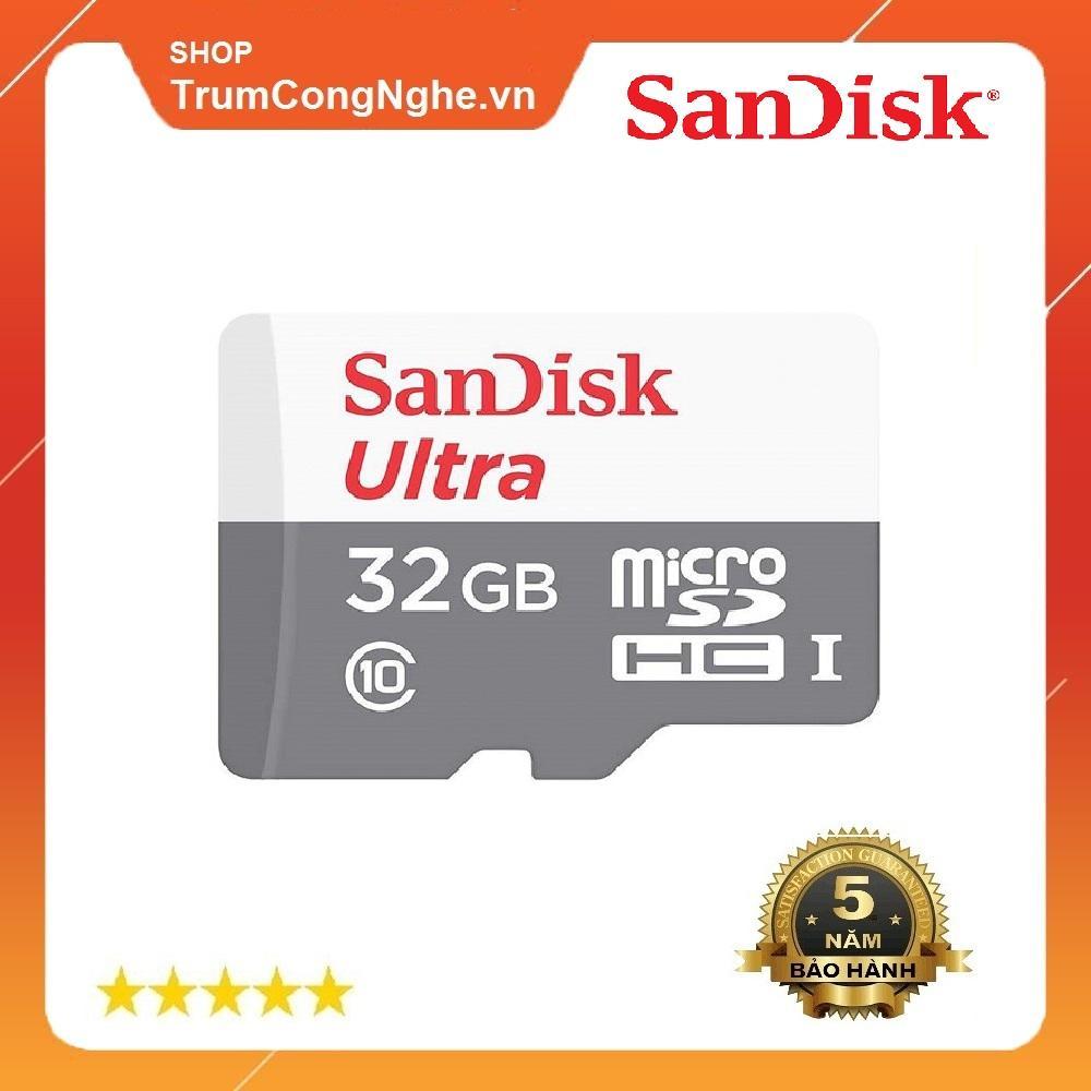 Giá Thẻ Nhớ Microsdhc sandi Ultra 533X Class10 32Gb 80Mb/S