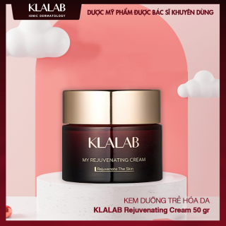 Kem dưỡng trẻ hóa da KLALAB Rejuvenating Cream nuôi dưỡng & hồi phục da hư tổn 50 gr thumbnail
