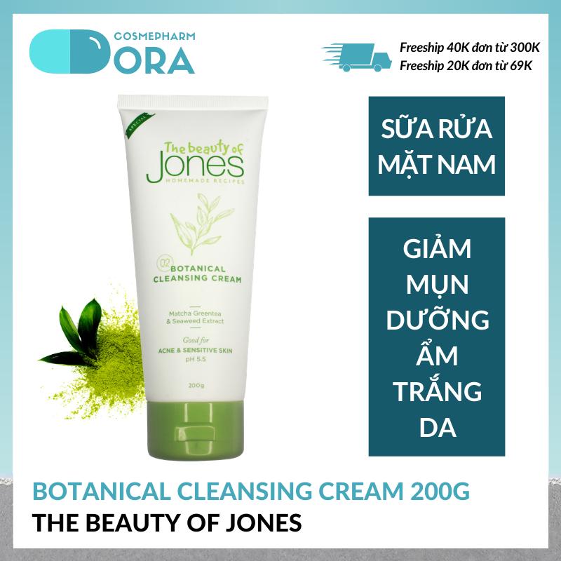 Sữa rửa mặt cho nam Botanical Cleansing Cream 200g giá rẻ