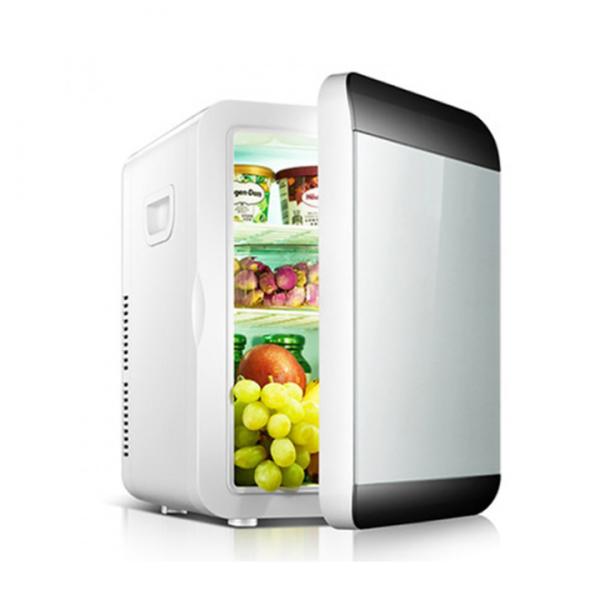 Tủ lạnh mini 2 chiều dung tích 20L Tủ lạnh ô tô Thùng giữ nhiệt ô tô dùng trên ô tô và điện nhà 12V/220V