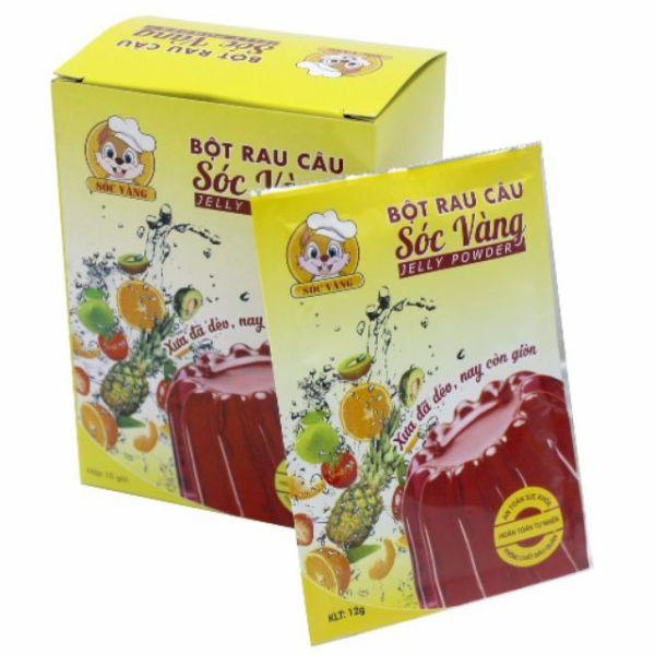 Bột râu câu sóc vàng hộp 12 gói nhỏ gói 10g chất lượng đảm bảo an toàn đến sức khỏe người sử dụng cam kết hàng đúng mô tả
