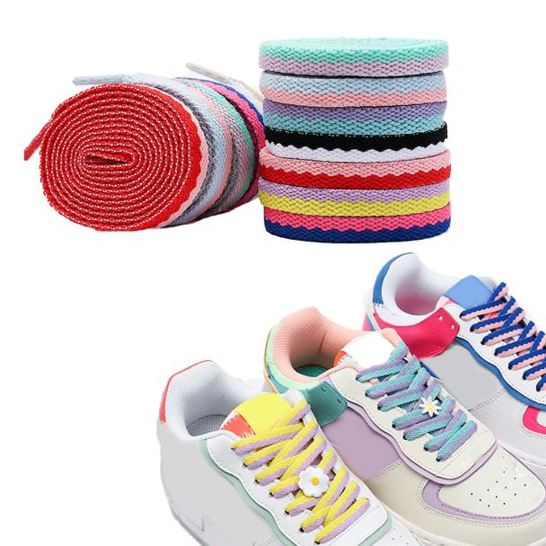 , Giày Vải Bố Giày Đế Bằng Đôi, Dây Giày Dệt Giày Khoét Lỗ Dây Ren Phụ Kiện Giày giá rẻ