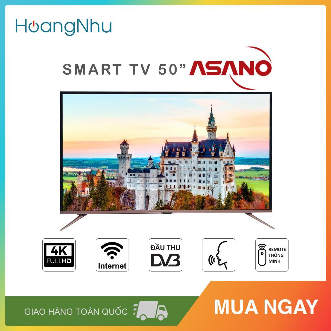 Bảng giá Smart Voice TV 4K Asano 50 inch 50EK7 (Màn hình UHD 4K, Android 7.1, Wifi, Điều khiển giọng nói, Bluetooth, Truyền hình KTS) - Bảo hành toàn quốc 2 năm