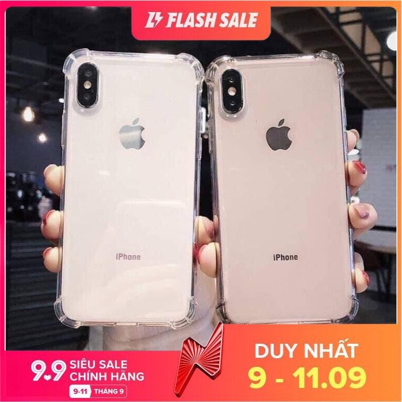 [HCM]Ốp Dẻo Chống Sốc cao cấp iPhone 6 / 6s / 6 Plus / 6S Plus / 7 / 8 / 7Plus / 8 Plus / X / Xs / Xs Max / 11 / 11 Pro / 11 Pro Max / 12 / 12 Pro / 12 Max / 12 Pro Max -Phụ kiện điện thoại HOT