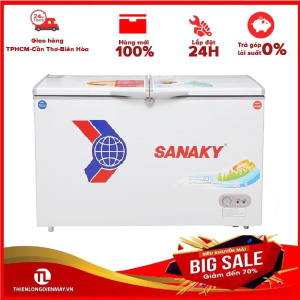 Tủ đông dàn đồng Sanaky VH-2299W1