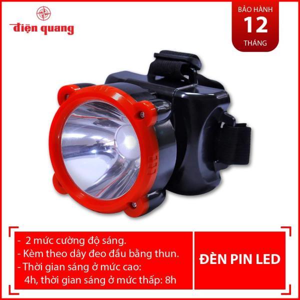 Đèn Pin Đội Đầu Điện Quang ĐQ PFL11 R BLR (Đen - đỏ)