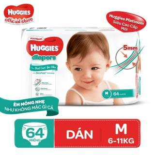 Tã dán Huggies Diapers Platinum M64 thumbnail