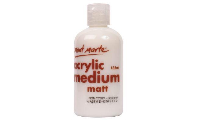 Mua Dung môi làm mờ màu Acrylic, Mont Marte, Medium Matt, 135ml