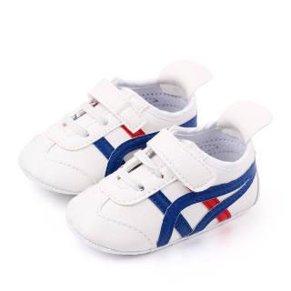 Kidlove 1 Đôi Giày Em Bé Bé Trai Bé Gái, Đế Bệt Đế Mềm Chống Trượt Miếng Dán Ma Thuật Bằng Da PU Giày Trẻ Sơ Sinh Trẻ Tập Đi Cho Bé 0-12M