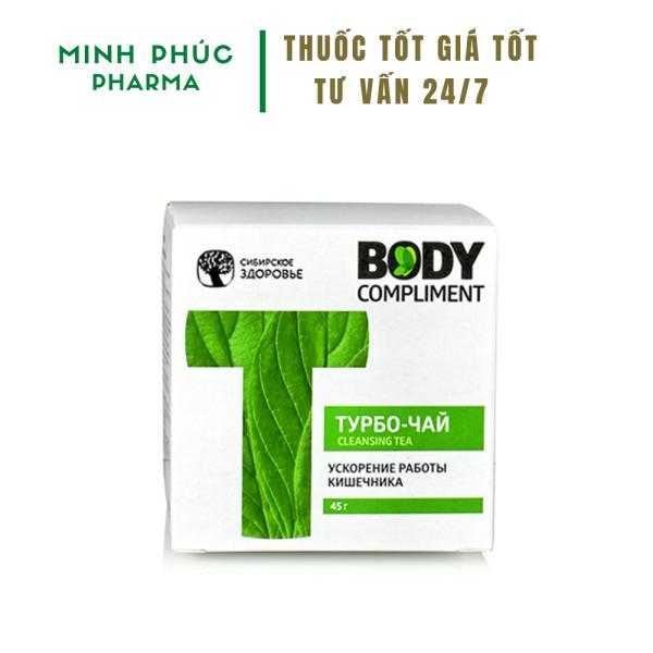 Trà Thảo Mộc Cleansing Tea Body Compliment - Thải mỡ nội tạng, hỗ trợ giảm béo giá rẻ