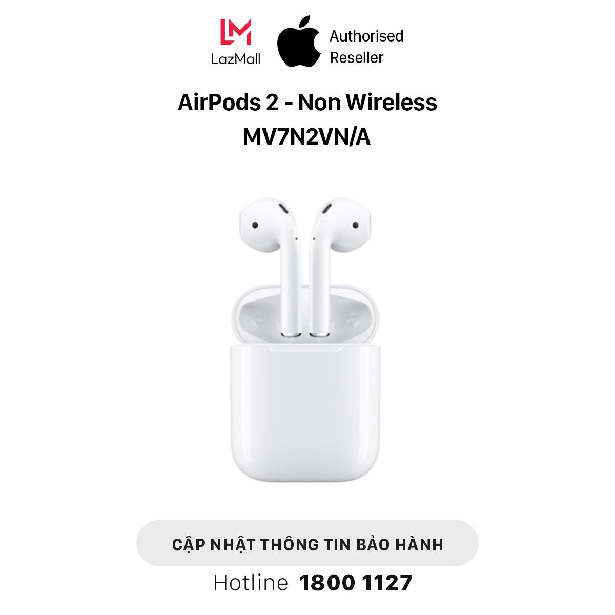 Apple AirPods 2 (Non Wireless) - Hàng Chính Hãng VN/A - MV7N2VN/A