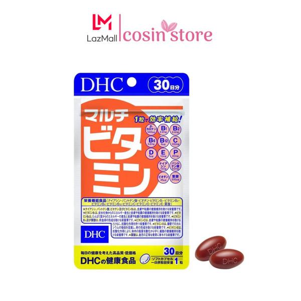 Viên uống Vitamin Tổng Hợp DHC MULTI VITAMINS 30 viên 30 ngày dùng của Nhật - Bổ sung vitamin cần thiết hàng ngày cho cơ thể