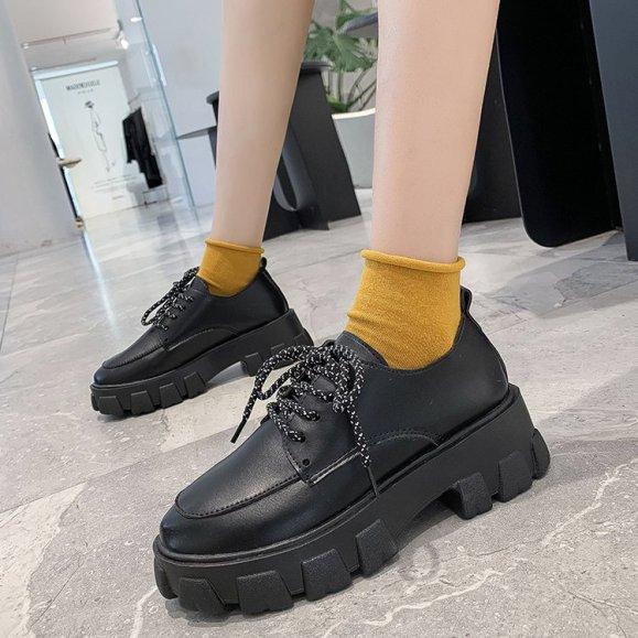 [Thu thập mã giảm thêm 30%] (Hàng có sẵn) giày uzzang oxford DOCTOR nữ BT37 giá rẻ