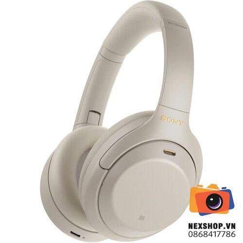 Tai nghe Sony WH-1000XM4 Không dây Chống ồn Hi-res   Chính hãng   Silver