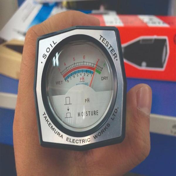Máy đo ph đất TAKEMURA DM 15 NHẬT BẢN, 1 đổi 1 trong 12 tháng giúp kiểm tra độ PH và độ Ẩm ĐẤT
