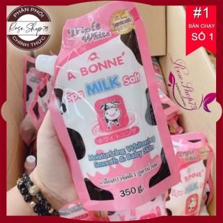 Muối tắm trắng Thái Lan vị sữa bò A Bonne Spa Milk Salt, shop cam kết 100% sản phẩm chính hãng nội ngoại nhập, bảo hành 1 đổi 1 nếu sản phẩm lỗi thumbnail
