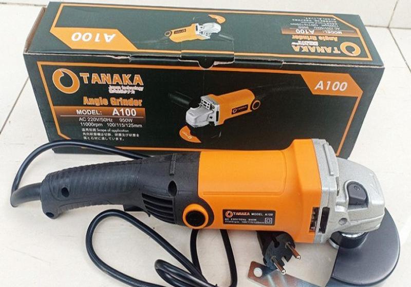 Máy mài góc-máy mài TANAKA 950W mạnh mẽ