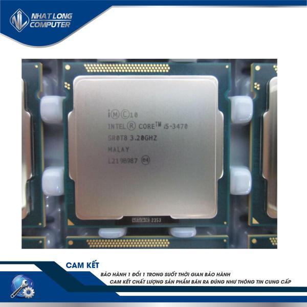 Bảng giá Bộ vi xử lý - Intel® Core™ i5-3470 Processor (6M Cache, 3.20 GHz) ( 4 lõi, 4 luồng) hợ trợ main h61 và B75 Phong Vũ