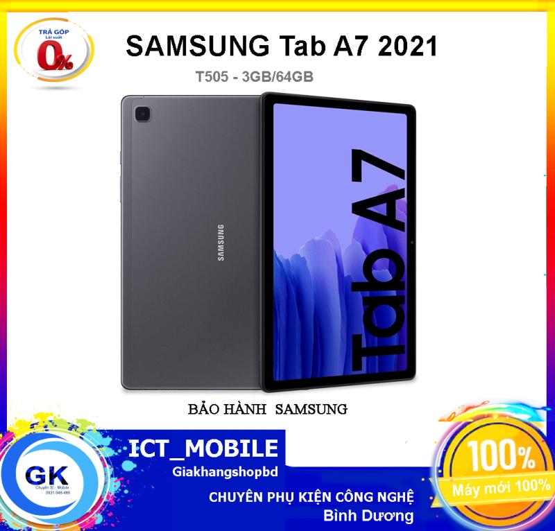 [Nguyên Seal] Máy tính bảng Samsung Galaxy Tab A7 (2020) 3GB/64GB - Mới 100% chính hãng