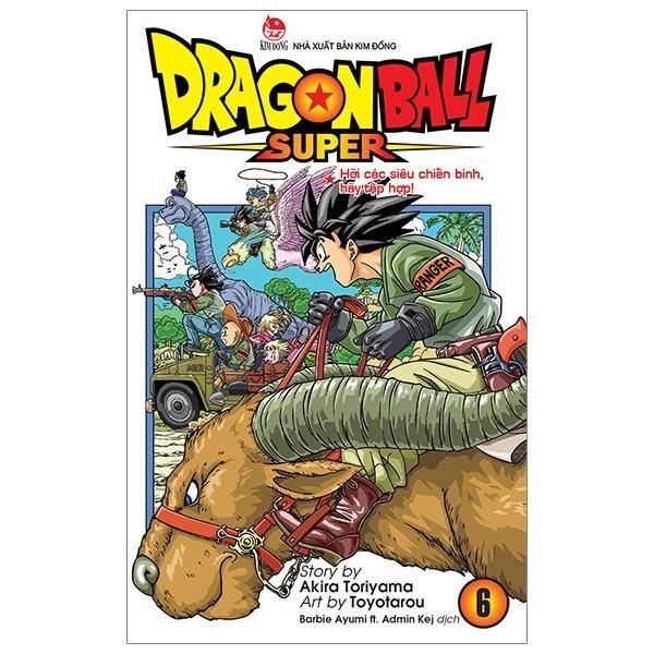 Cá Chép - Dragon Ball Super - Tập 6