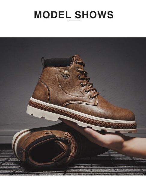 Giày boot da nam SS510 shop SUNSUN chuyên giày boot nam giá rẻ
