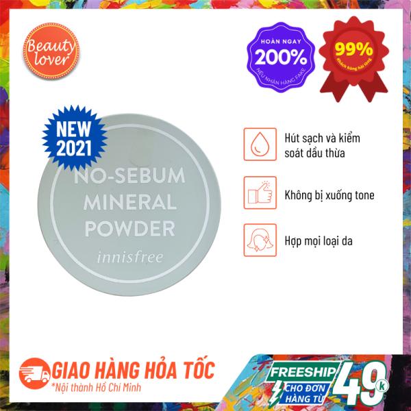 Phấn Phủ Kiềm Dầu Innisfree No Sebum Mineral Powder 5g - Beauty Lover Phấn Phủ Innisfree, Phấn Trang Điểm, Loại Bỏ Bã Nhờn Hiệu Quả