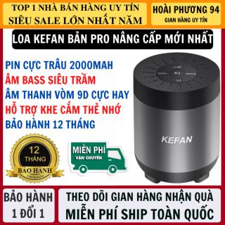 Loa Bluetooth KEFAN Bản Pro Nâng Cấp Pin Trâu 2000mAh, Âm Bass Siêu Trầm Tích Hợp Khe Cắm Thẻ Nhớ, Nhận Cuộc Gọi - Loa Bluetooth Mini Karaoke Cầm Tay, Loa Không Dây thumbnail