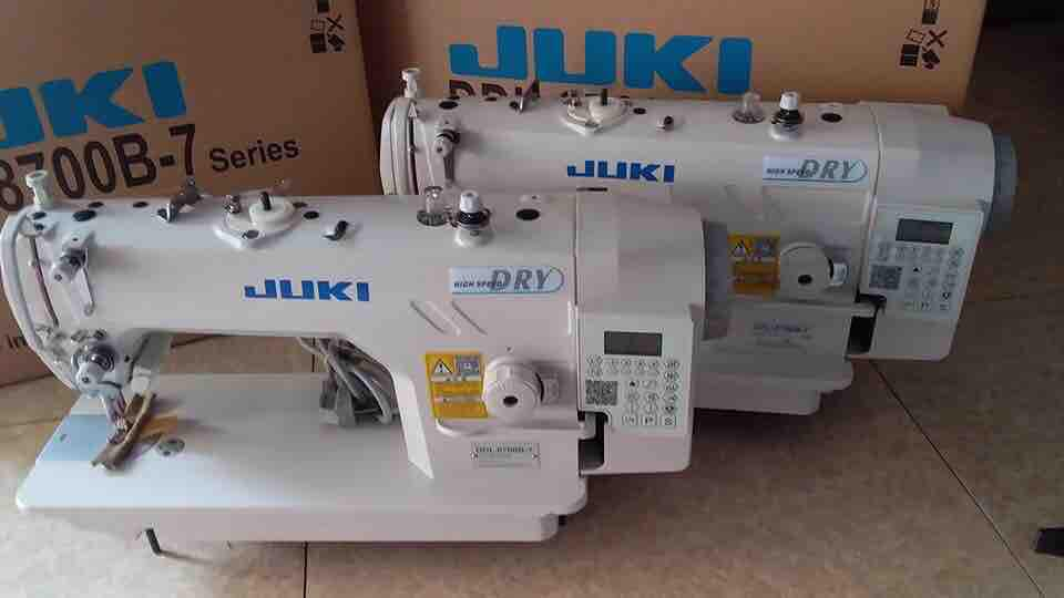 Máy may 1 kim JUKI điện tử liền trục mới 100% bảo hành 12 tháng