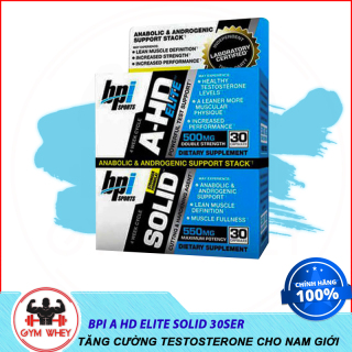 Viên Uống Hổ Trợ Tăng Sinh Lý Testosteron Và Phát Triển Cơ Bắp Bpi Bpisports AHD Lite Solid Authentic 100% Từ Mỹ thumbnail