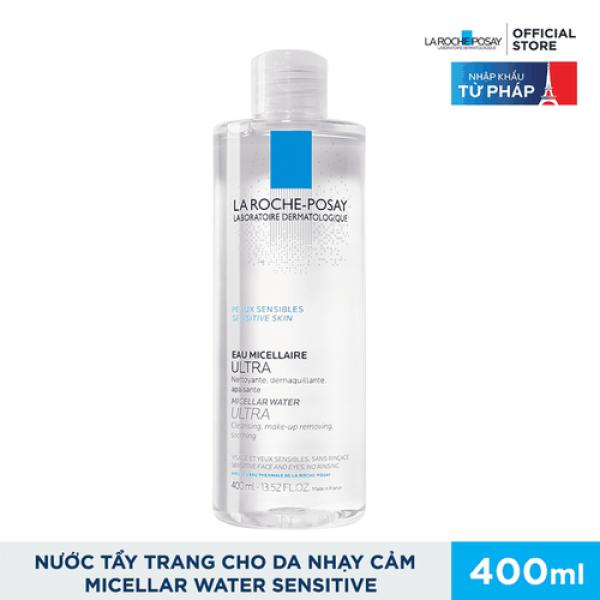 Nước Tẩy Trang La Roche Posay Eau Micellar Water Ultra 400ml-da nhậy cảm