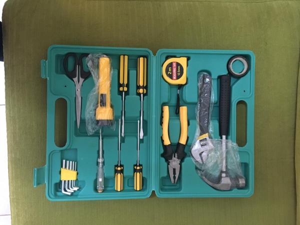 Bộ dụng cụ sửa chữa đa năng 18 món (Xanh)