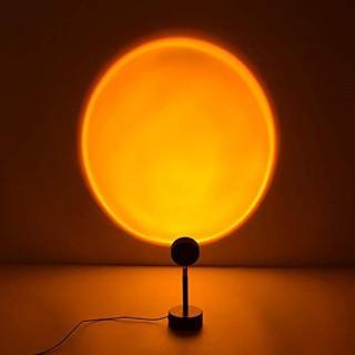 [HÀNG SẴN] Đèn Led trang trí, chụp ảnh - Màu Hoàng Hôn Cầu Vồng Mặt Trời - Chiều cao 27cm, dây USB dài 1.2m, quay 180 độ thumbnail