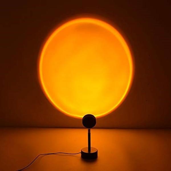 Bảng giá [HÀNG SẴN] Đèn Led trang trí, chụp ảnh - Màu Hoàng Hôn/Cầu Vồng/Mặt Trời - Chiều cao 27cm, dây USB dài 1.2m, quay 180 độ