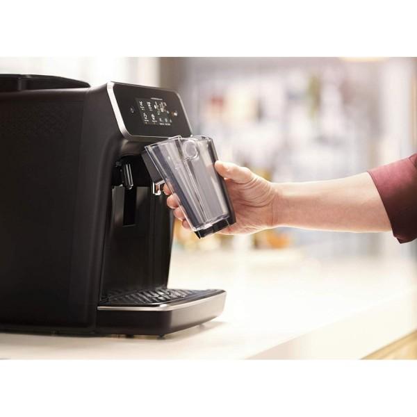Bảng giá Máy pha cà phê hoàn toàn tự động Philips Series 2200 EP2231/40, màn hình cảm ứng, tự động làm sạch, Màu Đen, Công suất 1500W Điện máy Pico