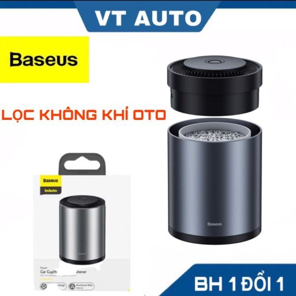 Bộ khuếch tán nước hoa khô khử mùi oto - lọc không khí dùng cho xe hơi ô tô Baseus Ripple Car Cup Holder Air Freshener - VT auto
